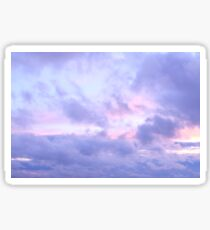 Evening Cloudy Sky Sticker