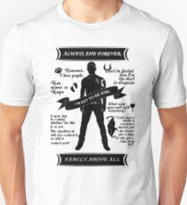 Klaus Quote Tee. Unisex T-Shirt