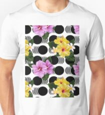 Flower Power Pattern Unisex T-Shirt