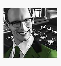 How the Riddler got his name Photographic Print