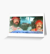 Tarjeta de felicitación Stoned Cheech y Chong
