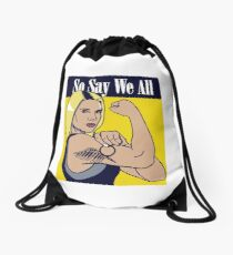 so say we all Drawstring Bag