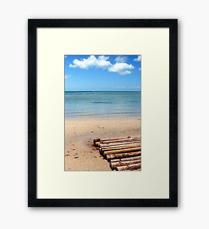 Rye Framed Print