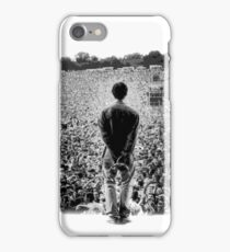 OASIS AT KNEBWORTH - posterized image. ICONIC iPhone Case/Skin
