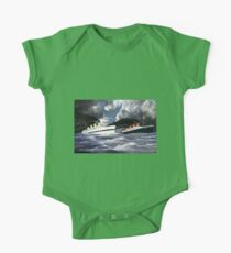 RMS Titanic and her sister the HMHS Britannic One Piece - Short Sleeve