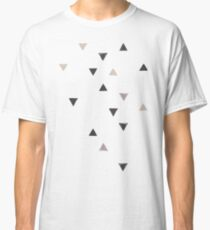 DOWN UP / scandi white / warm grey / flax / lavender Classic T-Shirt