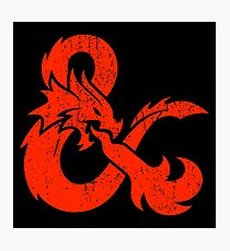 Dungeons&Dragons Photographic Print