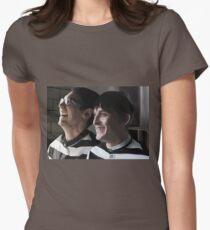 Arkham Nygmobblepot Womens Fitted T-Shirt