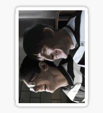 Nygmobblepot - Arkham Sticker