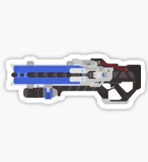 Soldier 76 Gun Sticker