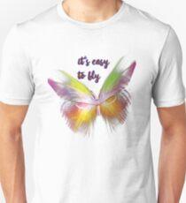 Fliegen wie ein Schmetterling T-Shirt