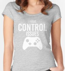 I Have Control Issues Women's Fitted Scoop T-Shirt