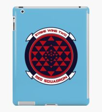 red squadron iPad Case/Skin