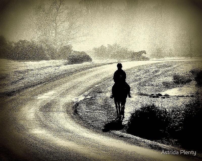 Morning ride by Astrida Plenty