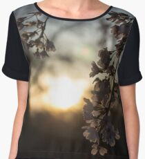 Sunset in Bloom Chiffon Top
