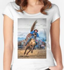 Rough Rider Women's Fitted Scoop T-Shirt
