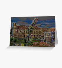 Colosseum from the Palatino Greeting Card