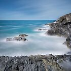 Kelsey Head, west pentire Cornwall by eddiej