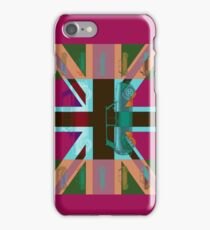 Vintage Cars Pink iPhone Case/Skin