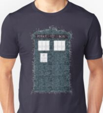 The Timey Wimey of The Doctor Unisex T-Shirt