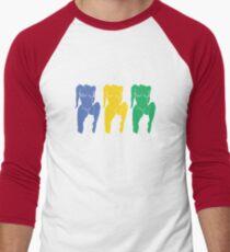 Triple Nipple  Men's Baseball ¾ T-Shirt