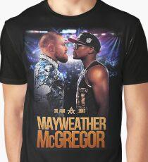 Mayweather V McGregor 26 Aug 2017 Graphic T-Shirt