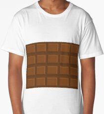 Chocolate bar pattern (perfect for Duvets) Long T-Shirt