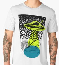 Alien Abduction  Men's Premium T-Shirt