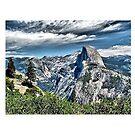 Half Dome at Yosemite National Park, California by Ed Moore