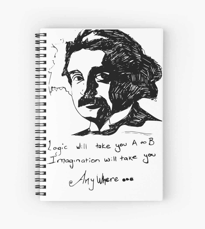 Einstein says it best.  by Caroline Cordier