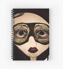 The girl Spiral Notebook