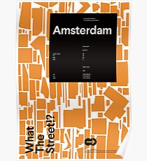 What the Street!? Amsterdam! Poster