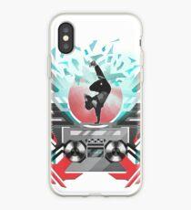 FREEZE (White) iPhone Case