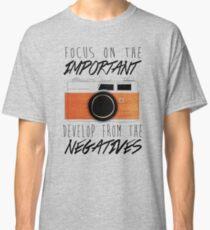Life is Like a Camera Classic T-Shirt