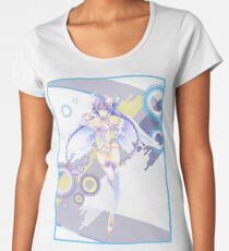 Cyberdimension Neptunia Online (Purple heart/Neptune) Women's Premium T-Shirt
