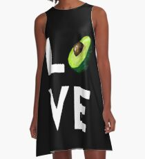 Avocado Love A-Line Dress