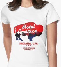 motel Women's Fitted T-Shirt