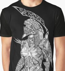 Knight Huntress Graphic T-Shirt