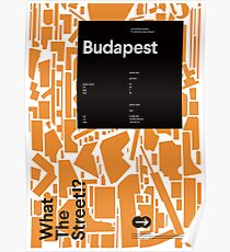 What the Street!? Budapest! Poster