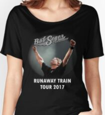 RUNAWAY TRAIN TOUR 2017 - BOB SEGER & SILVER BULLET BAND Women's Relaxed Fit T-Shirt