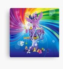 my little pony twilight n friends Canvas Print