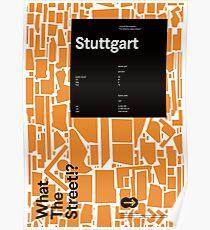 What the Street!? Stuttgart! Poster