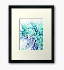 Fresh Fern Jungle Framed Print