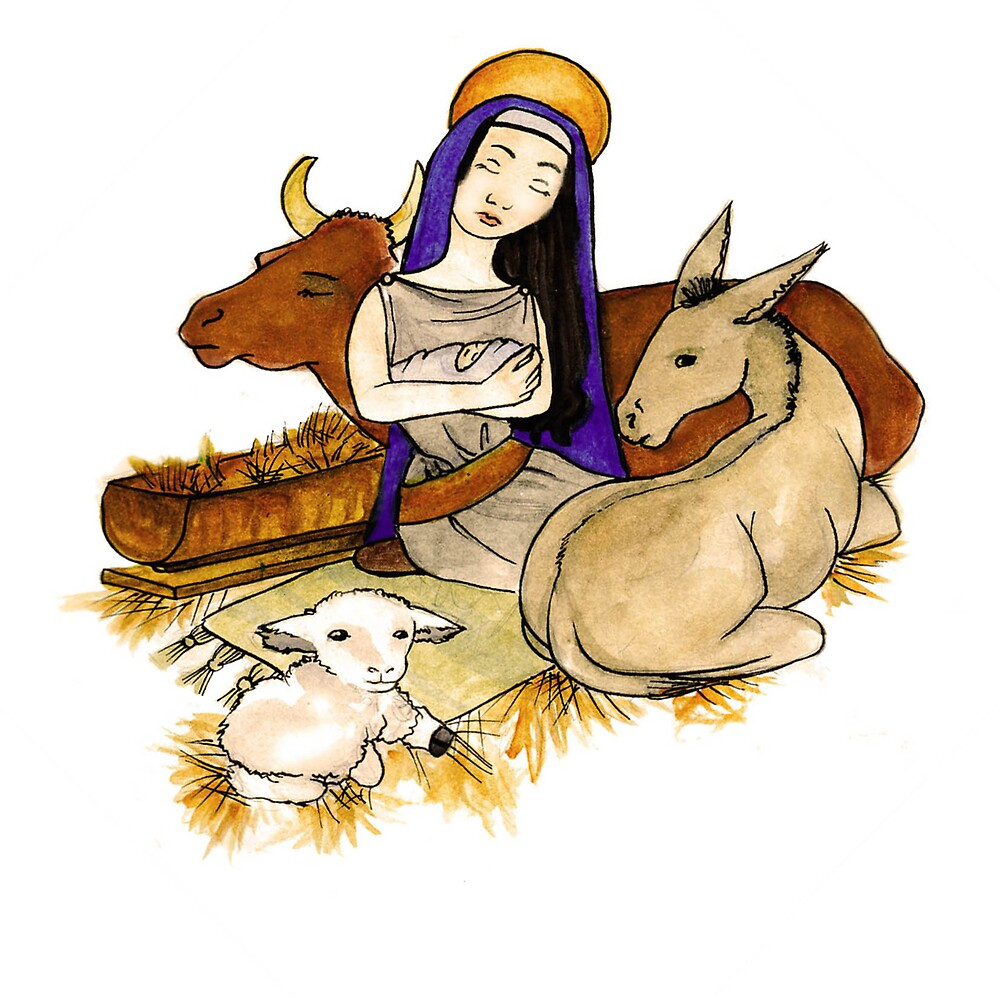 Christmas Series 05 Nativity by Dani Louise Sharlot