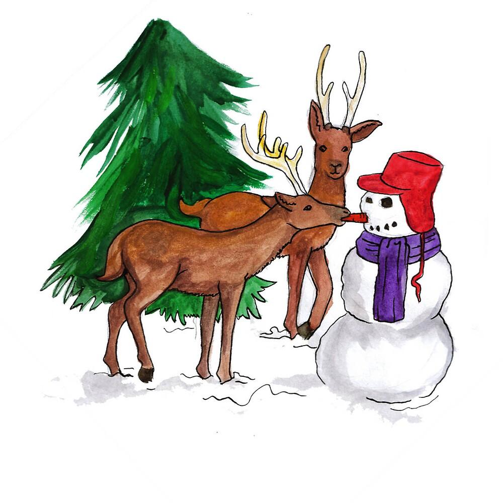 Christmas Series 06 Look, A Snowman by Dani Louise Sharlot