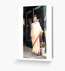 India American Style Greeting Card