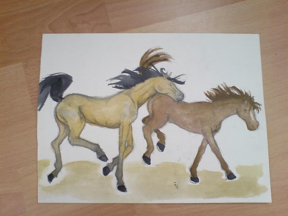 Ponies! by Dani Louise Sharlot