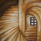 Sea Shell Stairway by Dani Louise Sharlot