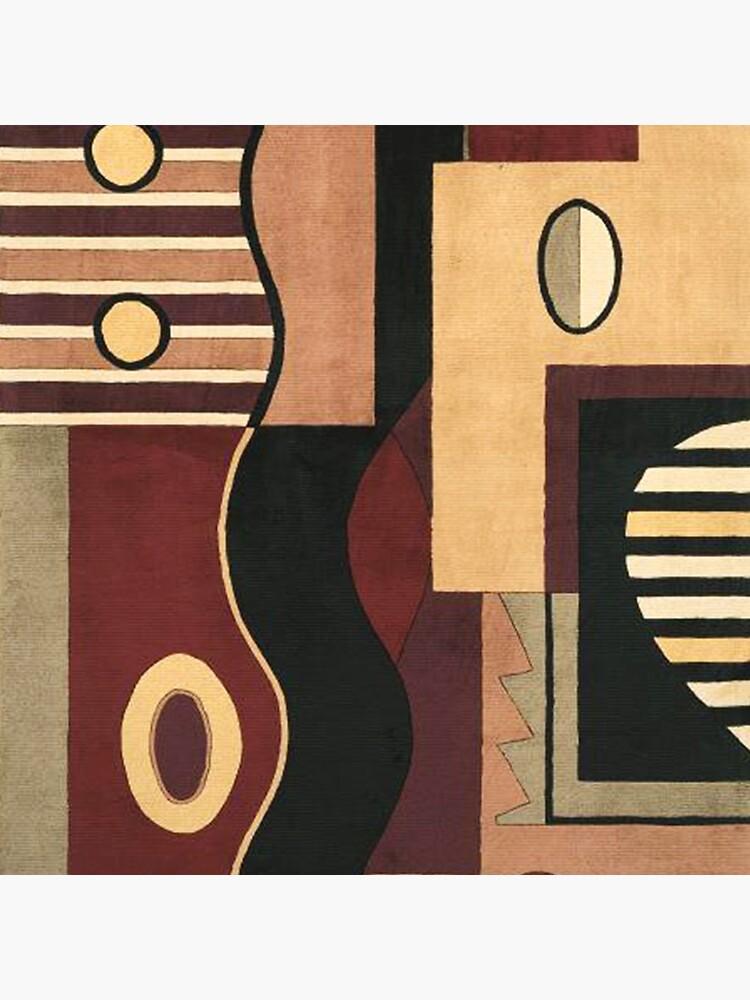 # 107, KUNST, Abstrakt, Geometrisch, Contemp, BN, TN BK von Yapsalot