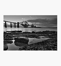 Forth Bridges Photographic Print